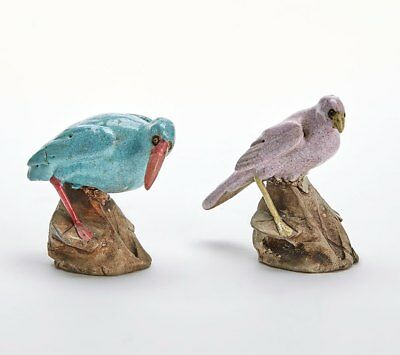 Antique Chinese Guangdong Stoneware Birds 18/19Th C
