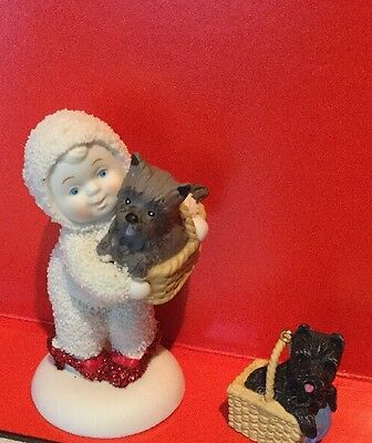 2001 Hallmark TOTO Ornament Miniature & Snow babies ruby slippers & TOTO NO BOX
