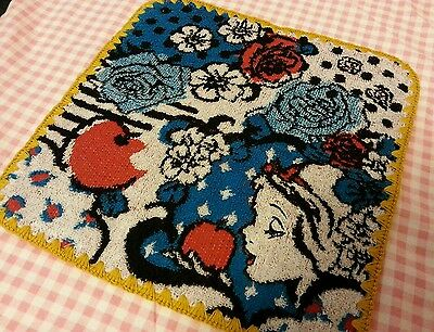 Rare Japan Tokyo Disney Snow White Mini Hand Towel one pc