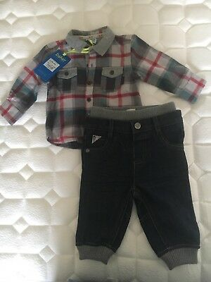 Ted Baker Shirt And Jeans Set 3-6 Months Boys