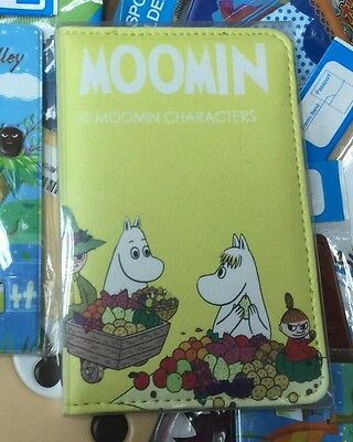 Moomin Valley Character Little My Yellow Passport Holder