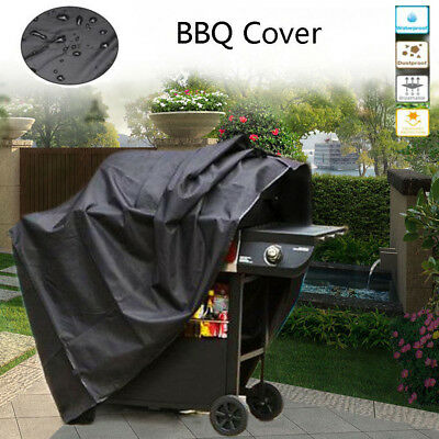 "Heavy Duty 57"" 67 75"" Waterproof BBQ Cover Gas Barbecue Grill Protection Outdoor"