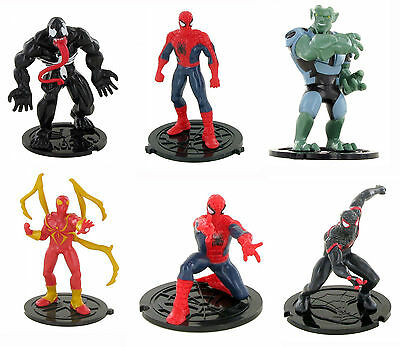 Comansi Ultimate Spiderman Superheld Spielzeug Figuren Kuchen Dekoration