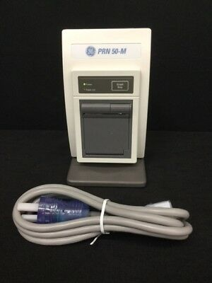GE PRN 50-M Medical Printer with Stand & Hospital Grade Power Cord *Tested*
