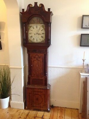 Longcase Grandfather Clock, beautiful Victorian, a statement piece.