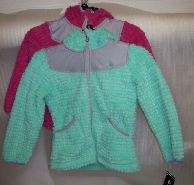Girls Vertical 9 Lightweight Fleece Jackets Multiple Colors/Sizes New With Tags