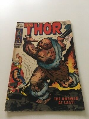 Thor #159 - Marvel 1968 Comic Book Orign of Dr Blake Conclusion