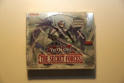 Yu-Gi-Oh Display Box The Secret Forces Deutsch 24 Booster sealed THSF-DE