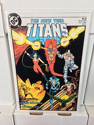 The New Teen Titans #1 NM+ 2nd Series DC Comics 1984 more auctions!
