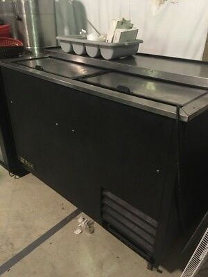 """True T-50-GC 50"""" Glass And Plate Froster or Bottle cooler"""