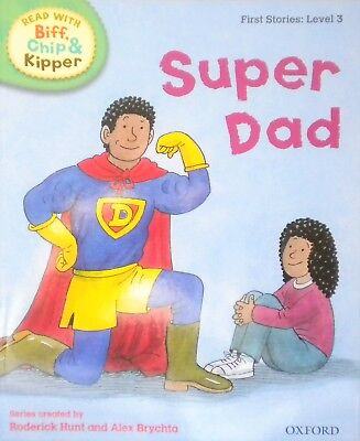 Super Dad | Biff Chip Kipper | Children's book | Phonics | Level 3 | Oxford| New