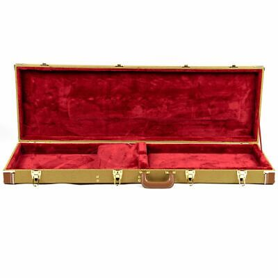 Guardian CG-035-B Tweed Hardshell Case for Electric Bass Guitar