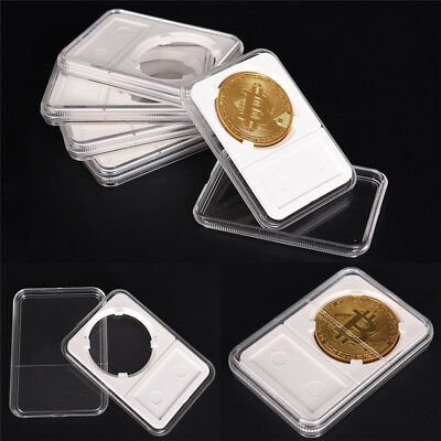 Holder PCCB Protector Coin Display Slab for NGC PCGS Grade Collection Box FY