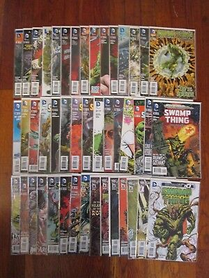 Swamp Thing #1-40 (23.1) + Annuals 1-3 and issue #0 New 52 NM