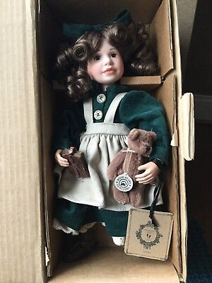 Boyds Bears Yesterdays Child Collection LAURA W/ LUCY SCHOOL DAYS Doll 4801