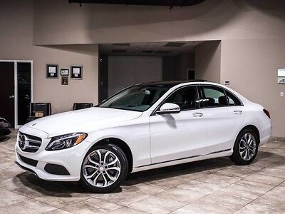 2015 Mercedes-Benz C-Class 4Matic Sedan 4-Door 2015 Mercedes-Benz C300 4Matic Sedan $46k+MSRP Premium Package! Panorama Sunroof