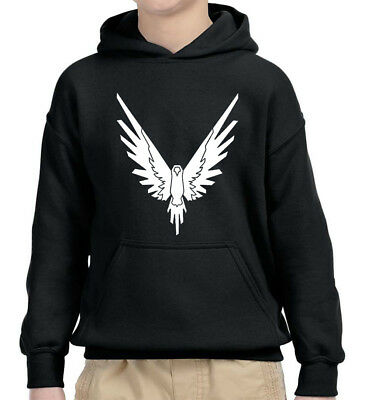 New Way 743 - Youth Hoodie Maverick Phoenix Logo Logang