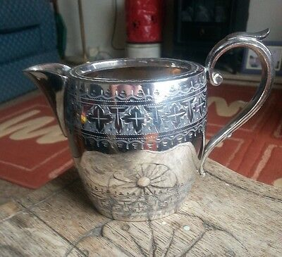 silver plated jug see pictures