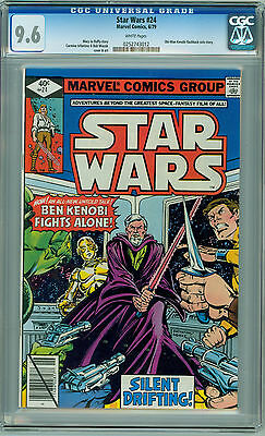 Star Wars #24 (1979) CGC 9.6 NM+ White Pages *Silent Drifting!*