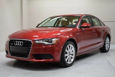 2013 Audi A6 Premium Plus Sedan 4-Door 2013 Audi A6 AWD 3.0 liter Premium Plus Cold Weather Pack One Owner Clean Carfax