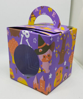 Halloween  Cup Cake Boxes