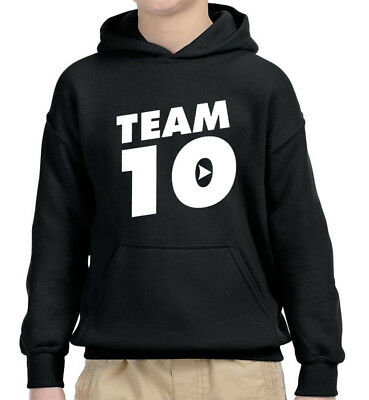 New Way 742 - Youth Hoodie Team 10 Ten #Team10
