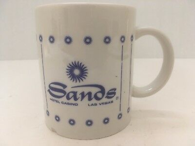 Vintage Sands Hotel Casino Las Vegas White Coffee Tea Mug Decorative Collector