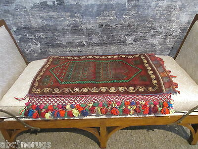 "2'4""x3'1"" Decorative Pillow Cover Wall/Sofa Hanging Hand-knotted Wool Rug 581057"