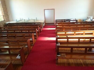 church short pews in great condition antiques solid wood Sydney Berala NSW 2141