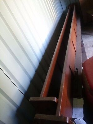 long church pews partition antiques solid timber wood turning Sydney
