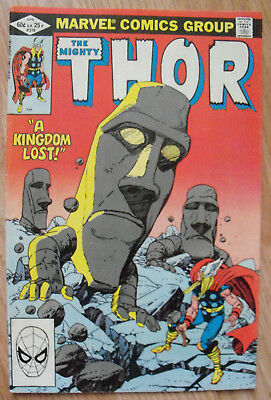 Thor #318 (1982) Odin Loki Gil Kane Doug Moench VF Combined P&P Available