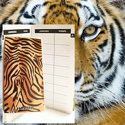 NEW Nature Series Address Book ADDRESS TELEPHONE EMAIL Tiger