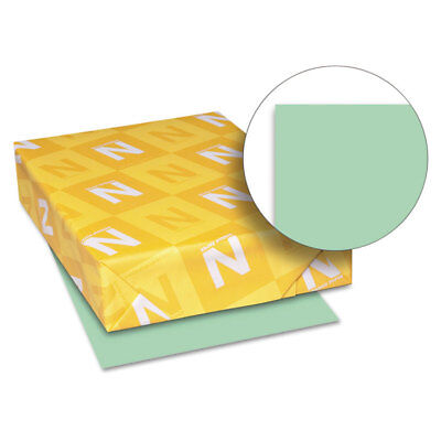 Neenah Paper Exact Index Card Stock 110 lbs. 8-1/2 x 11 Green 250 Sheets/Pack
