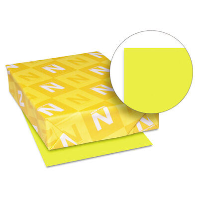 Astrobrights Colored Card Stock 65 lb. 8-1/2 x 11 Sunburst Yellow 250 Sheets