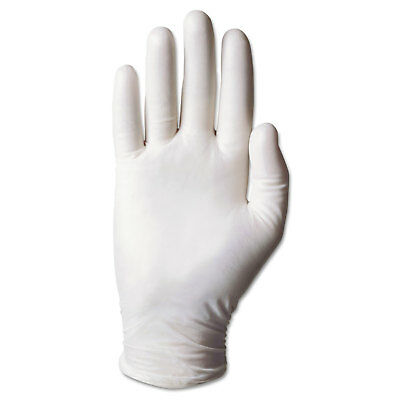 Ansell Dura-Touch 5 mil PVC Disposable Gloves Medium Clear 100/Box 34725M