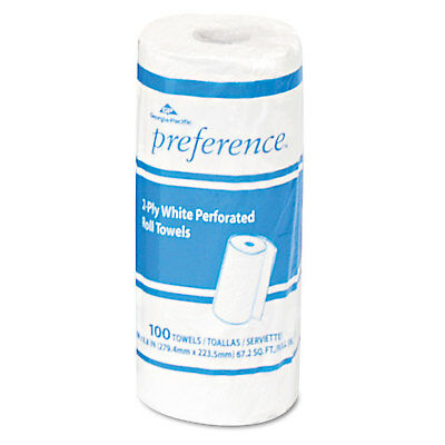 Georgia Pacific Professional Perforated Paper Towel Roll 11 x 8 7/8 White 100