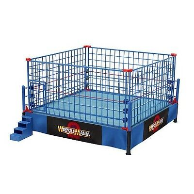 WWE Steel Cage Match Accessory Set- Classic Wrestle Mania Version. Free Shipping