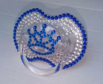 Bling Avent Pacifier with rhinestones - soother - 0-6 & 6-18 - 8 colours