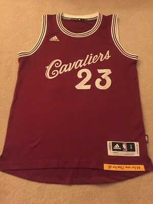 Mens Small Cleveland Cavaliers Christmas Day Swingman Jersey - Lebron James 23