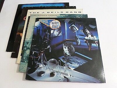 Lot Of 5 70s 80s Pop Rock LP Wholesale Moody Blues Doobie Brothers Vinyl Record