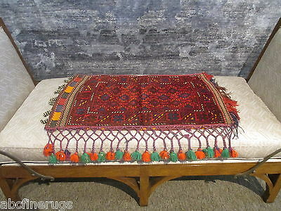 "2'3""x3'3"" Decorative Pillow Cover Wall/Sofa Hanging Hand-knotted Wool Rug 581088"