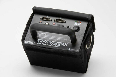 Calumet Battery Travel Pak - portable power for Bowens and Calumet - Made in UK