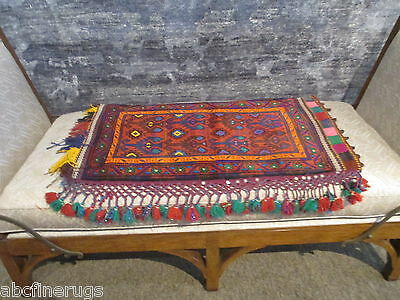 "2'2""x3'5"" Decorative Pillow Cover Wall/Sofa Hanging Hand-knotted Wool Rug 581065"
