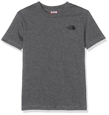 (Small, Medium Grey Heather) - The North Face Children's Simple Dome T-Shirt