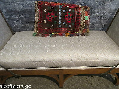 "2'3""x2'7"" Decorative Pillow Cover Wall/Sofa Hanging Hand-knotted Wool Rug 581137"