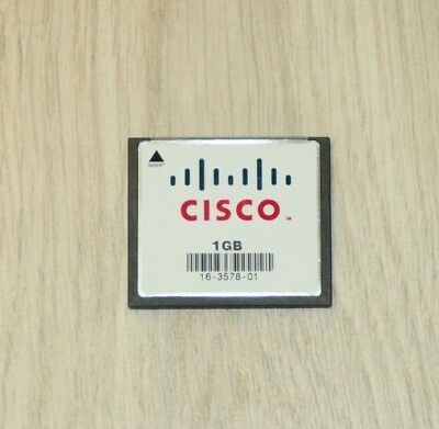 Cisco MEM-CF-1GB Compact Flash Memory for Cisco 1900 1921 1941 1 YEAR Wty