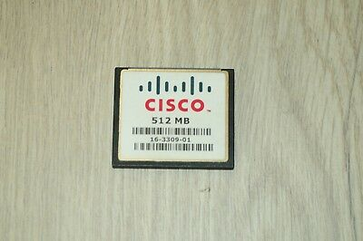 Cisco MEM-CF-512MB Compact Flash Memory for Cisco 1900 1921 1941 1 YEAR Wty