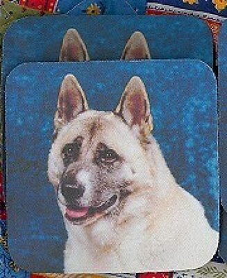 AKITA Rubber Backed Coasters #0903
