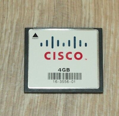 Cisco MEM-CF-4GB Compact Flash Memory for Cisco 1900 1921 1941 1 YEAR Wty