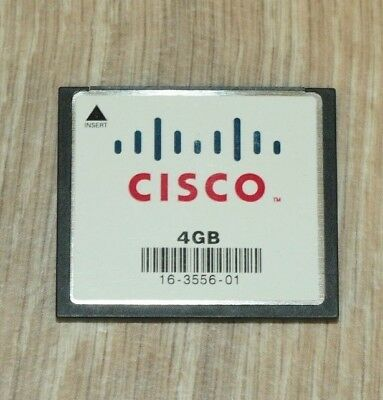 Cisco MEM-CF-4GB Compact Flash Memory for 3900 3925 3945 3935E 3945E 1 YEAR Wty